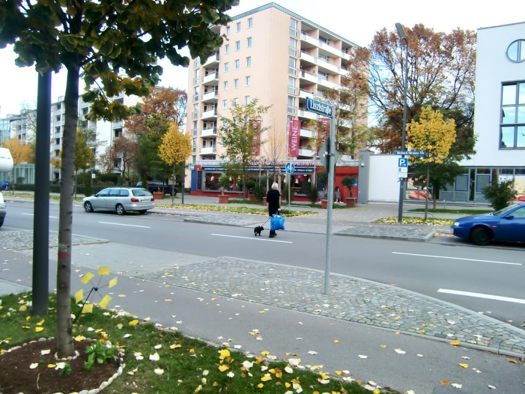 An der Ecke Richard-Strauss-/Lisztstraße wird ein ampelgesteuerter Fußgängerübergang eingerichtet. CSU-Lokalpolitiker Peter Reinhardt hatte sich für einen gesicherten Überweg seit mehr als drei Jahren hartnäckig eingesetzt.