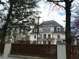 Die Thomas-Mann-Villa im Herzogpark wurde vor wenigen Wochen für kolportierte 30 Millionen Euro verkauft.