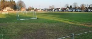 Die Bezirkssportanlage des SV Helios Daglfing an der Westpreußenstraße in Englschalking.