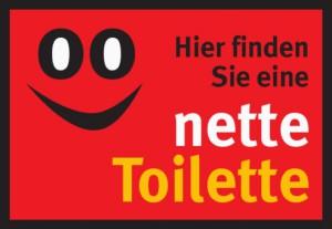 """Unter diesem Logo firmiert das Konzept """"Nette Toilette"""" in mehr als 200 deutschen Kommunen."""