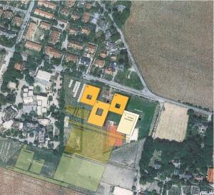 Die Idee für den WHG-Neubau an der Brodersenstraße (Gebäudelage ist ein Vorschlag).