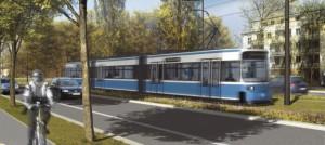 Die Tram St. Emmeram wird von vielen Bogenhauser Bürgern genutzt, um die Stadt und zurück zu kommen. Andererseits klagen viele Anwohner, vor allem in der Cosimastraße (Bild), über nächtliche Lärmbelästigungen, die ihnen den Schlaf rauben.   Visualisierung: MVG