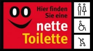 """Unter diesem Logo firmiert das Konzept """"Nette Toilette"""" in mehr als 200 deutschen Kommunen.   Foto: Stadt Esslingen"""