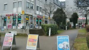 Das Geschäftszentrum Freischützgarten wurde an einen Investor verkauft, der Gewerbeeinheiten in Wohnungen umwandeln will. Anlieger fürchten um die Infrastruktur ihres Viertels.     Foto: hgb