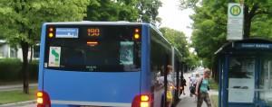 Die Buslinie 191 soll ab der Haltestelle Süskindstraße mit der Linie 190 einen ganztägigen Zehn-Minuten-Takt bilden. Diesem Grünen-Antrag stimmten die Mitglieder des Bezirksausschusses einhellig zu.    Foto: hgb