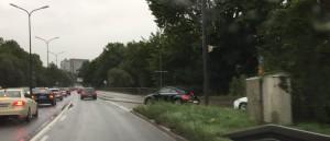 Gefährlich, reicht's oder reicht's nicht? Die Einfahrt der Ifflandstraße in den Isarring Richtung Effnerplatz.    Foto: hgb