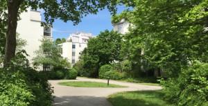 Für eine Bestandswohnung im Arabellapark – wie hier an der Elektrastraße – werden pro Quadrat-meter Miete laut Immobilienverbands Deutschland durchschnittlich 14,90 Euro verlangt.   Foto: hgb