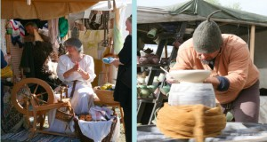 Handwerkskünste von anno dazumal gibt's beim Mittelaltermarkt im kommenden Mai auf der Cosimawiese zu bestaunen.    Foto: Event Hexelinde