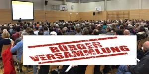 Mehr als 500 Besucher wurden vergangenes Jahr bei der Bürgerversammlung Bogenhausen im Wilhelm-Hausenstein-Gymnasium gezählt.      Foto: hgb / Grafik: Herlach