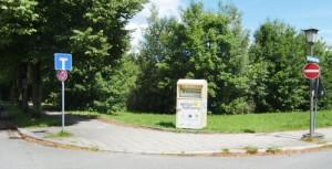 Auf diesem Grundstück an der Ecke Bruno-Walter-Ring/Sackgasse Knappertsbuschstraße plant die russisch-orthodoxen Kirche ein Zentrum.   Foto: hgb